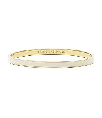 kate spade new york Tickle the Ivories Idiom Bangle Bracelet