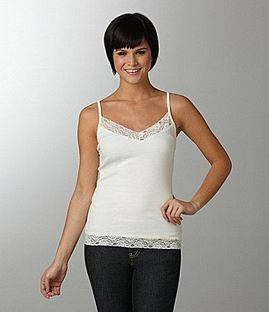 Copper Key Lace-Trim Camisole