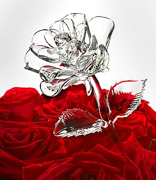 Waterford Crystal Fleurology Rose Flower