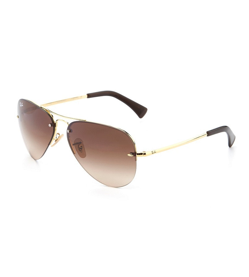 Rimless Aviator Eyeglass Frames : Ray-Ban Rimless Aviator Sunglasses Dillards