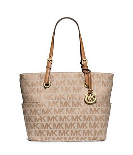 MICHAEL Michael Kors Signature East/West Tote Image