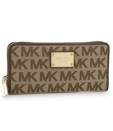 MICHAEL Michael Kors Signature Zip-Around Wallet