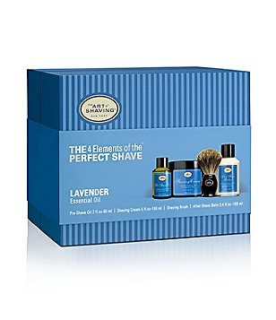 The Art of Shaving The 4 Elements of a Perfect Shave Lavender Kit