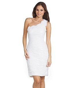 Product: Adrianna Papell One-Shoulder Dress