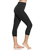 Lyss Tummy-Control Capri Leggings