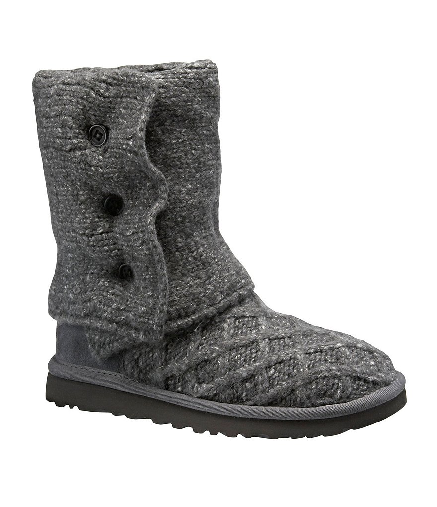 UGG® Lattice Cardy Sweater Boots