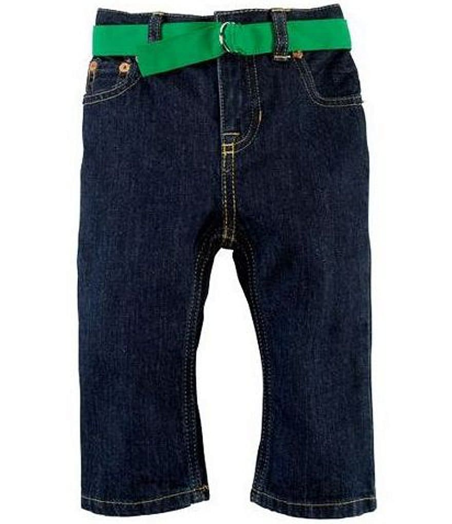 Ralph Lauren Childrenswear Baby Boys 9-24 Months Infant Slim-Fit Denim Jeans