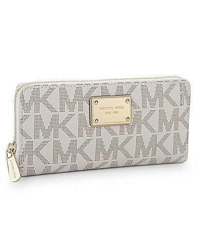 MICHAEL Michael Kors Signature Zip-Around Continental Wallet
