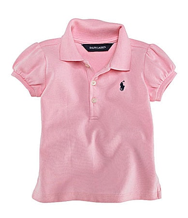 Ralph Lauren Childrenswear Infant Mesh Polo Shirt