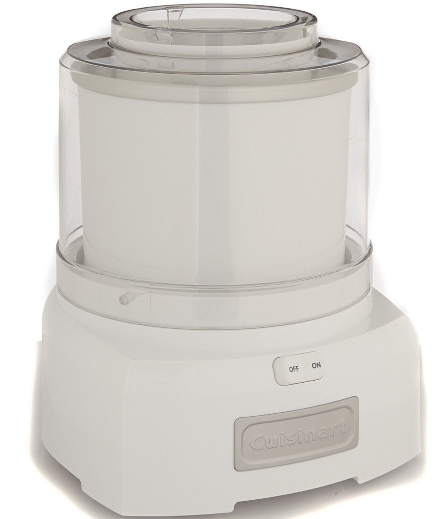 Cuisinart White Frozen Yogurt, Ice Cream & Sorbet Maker