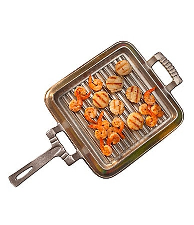 Wilton Armetale Square Handled Grill Pan