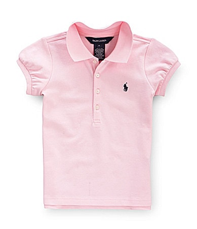 Ralph Lauren Childrenswear 4-6X Basic Mesh Polo Shirt