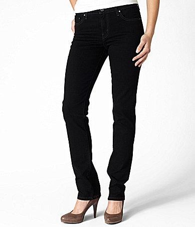 Levi�s Mid-Rise Skinny Jeans