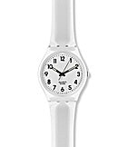 Swatch Just White Watch