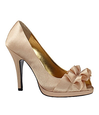 Nina Evelixa Satin Pumps