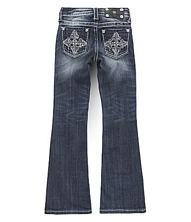 Miss Me 7-14 Embroidered Jeans