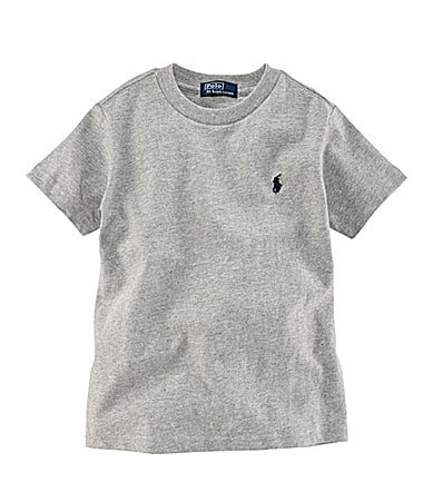 Ralph Lauren Childrenswear 2T-7 Basic Crewneck Tee
