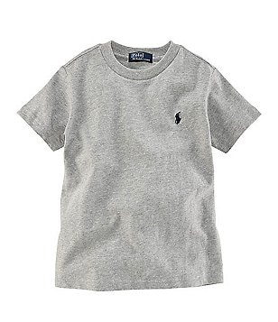 Ralph Lauren Childrenswear Big Boys 8-20 Basic Crewneck Tee