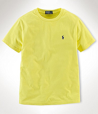 Ralph Lauren Childrenswear 8-20 Basic Crewneck Tee