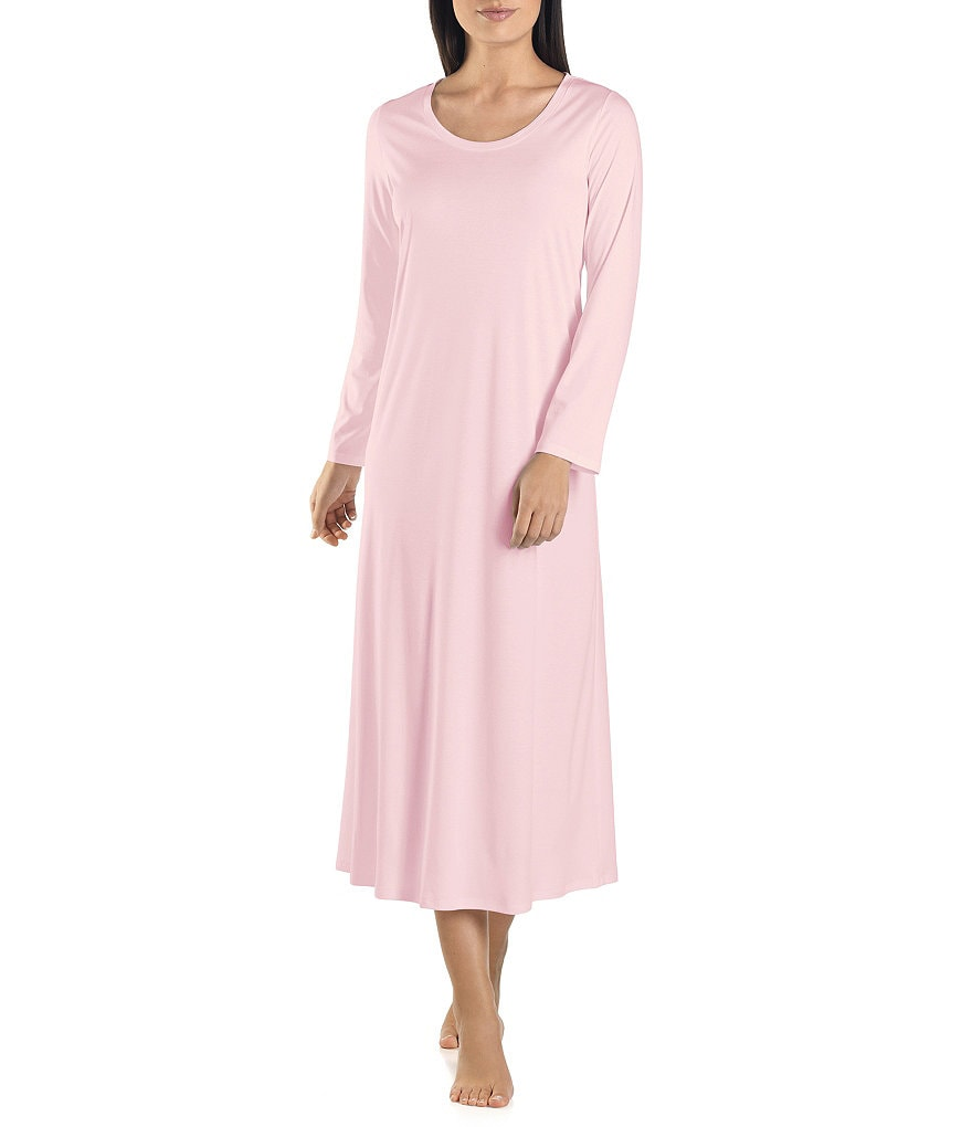 Hanro Tonight Long Sleeve Long Gown