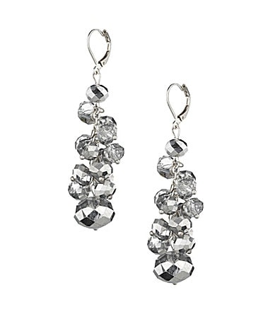 Cezanne Crystal Shaky Drop Earrings