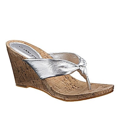 Gianni Bini Mesa Wedge Sandals