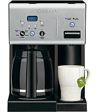 Cuisinart Coffee Plus 12-Cup Programmable Coffeemaker & Hot Water System