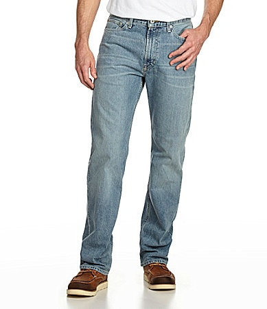 Cremieux Austin Relaxed Straight-Leg Jeans