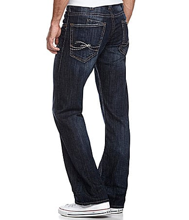 Silver Jeans Co. Zac Relaxed Straight-Leg Jeans