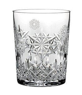 Waterford Snowflake Wishes Collection Premiere Edition Joy Double Old-Fashioned Glass Image