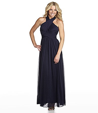 Alex Evenings Halter Gown