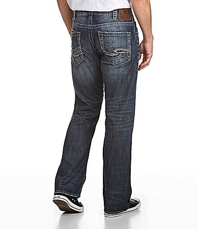 Silver Jeans Co. Zac Straight-Leg Jeans