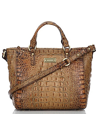 Brahmin Toasted Almond Collection Mini Arno Tote