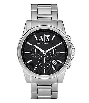 AX Armani Exchange 3 Hand Stainless Steel Chronograph Watch
