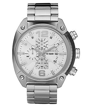Diesel Stainless Steel Chronograph Bracelet Watch