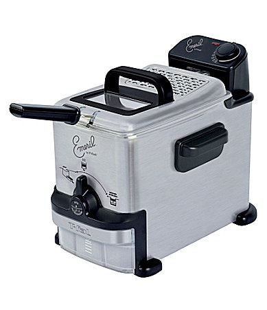 Emeril by T-Fal Stainless Steel Fryer with Oil Filtration System