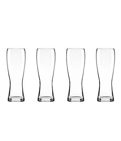Lenox Tuscany Wheat Beer Glasses Set of 4