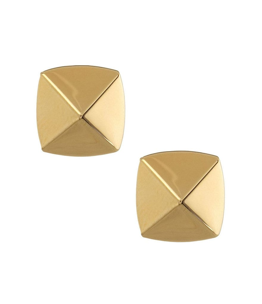 Vince Camuto Goldtone Pyramid Stud Earrings