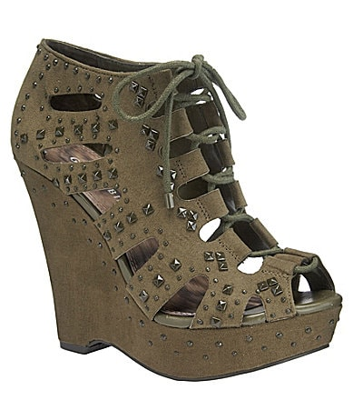 Gianni Bini Georgina Platform Wedges