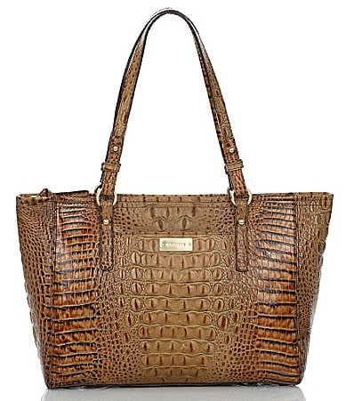 Brahmin Toasted Almond Collection Medium Arno Tote