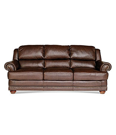 Natuzzi Editions Oregon Leather Sofa