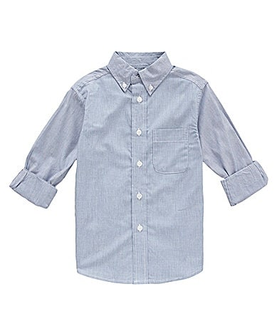 Class Club 8-20 Striped Woven Shirt