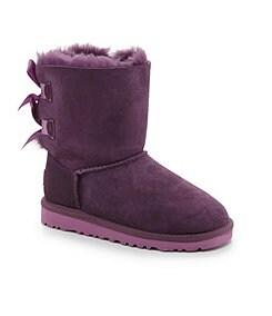 UGG� Australia Girls� Bailey Bow Boots