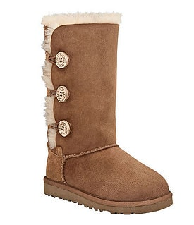 UGG� Australia Girls' Bailey Button Triplet Boots Image
