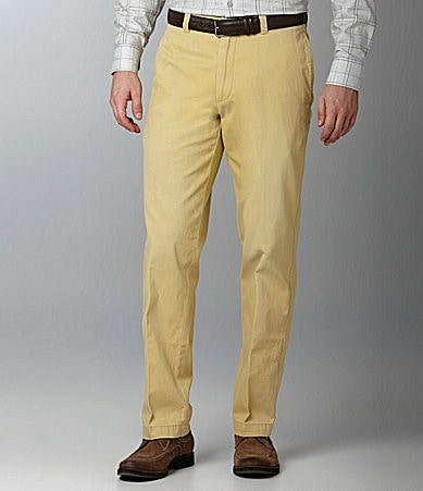 Roundtree & Yorke Casuals Washed Chino Pants
