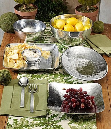 Towle Silversmiths Hammered Serveware Collection