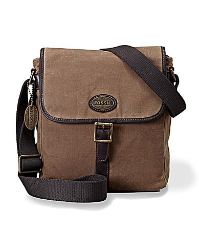 Fossil Estate Canvas City Bag