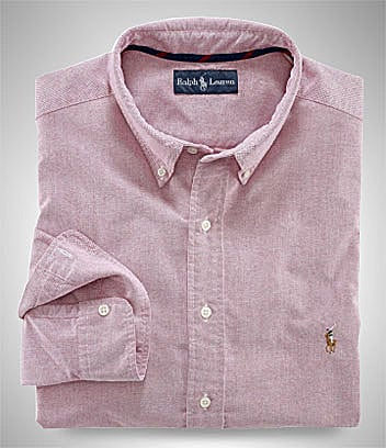 Polo Ralph Lauren Big & Tall Classic-Fit Basic Oxford Sportshirt
