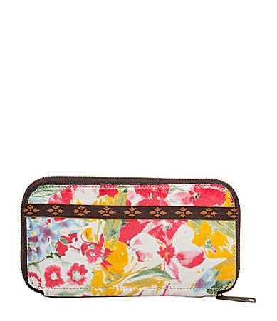 Patricia Nash Oria Zip-Around Wallet