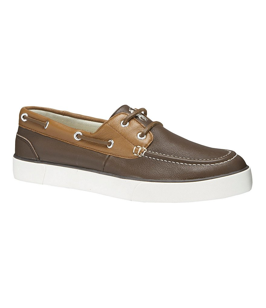 Polo Ralph Lauren Sander Leather Boat Shoes